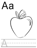 ABCs - A fun coloring and writing activity for kids