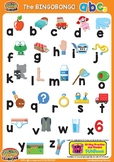 ABCs Alphabet Classroom Poster lowercase - Colorful ESL/EF
