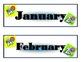 Alphabet Calendar! Alphabet Bulletin Board! Alphabet Theme! ABC s Calendar!