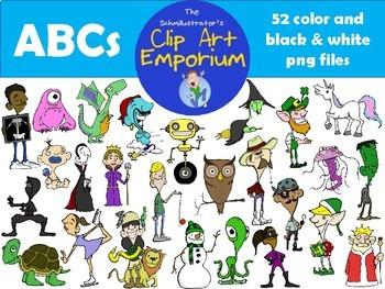 ABCs Clip Art - The Schmillustrator's Clip Art Emporium