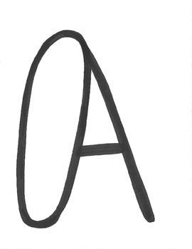 ABCs -Color Me Capital Letters