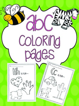 ABC's {Coloring Pages}