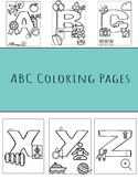 ABCs Coloring Pages