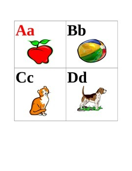 ABC's Flashcards