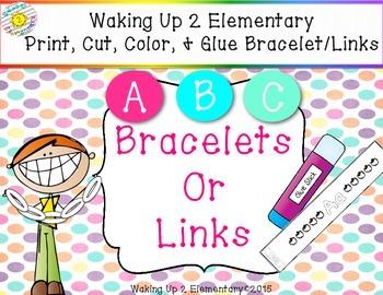 ABC's Letter Bracelets & Links