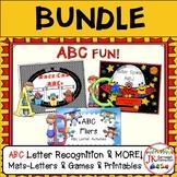ABCs Letter Recognition Literacy Center Activities BUNDLE