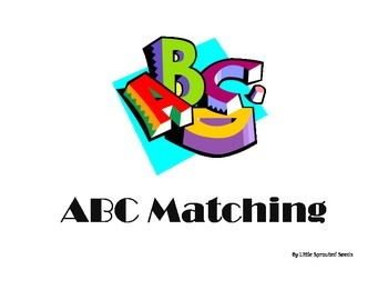 ABC's Matching Game