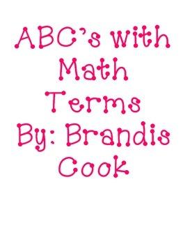 ABC's Math Terms