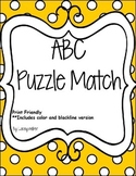 ABCs Puzzle Match Cards
