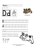 ABC's & Sign Language Practice Worksheets