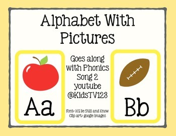 Duck Theme ABC's With Pictures