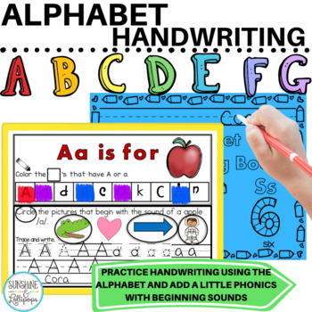 Alphabet: You Can Learn Your Letters & Sounds with Me Ready to Use Printables