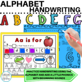 Alphabet Letters, Tracing and Beginning Sounds Ready to Use Printables