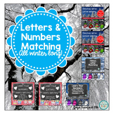 Winter Letter Recognition and Number Recognition Bundle