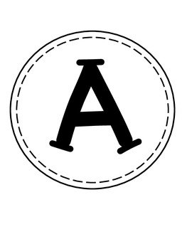 ABC's and 123's Letter and Numbers for Creating Classroom Banners