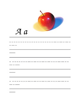 ABC's and 123's Writing Sheets
