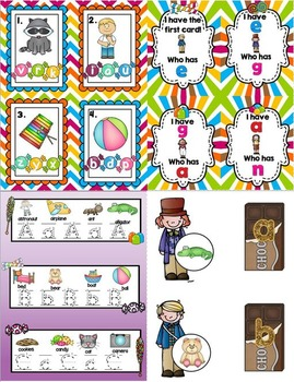 ABC's and the Candy Factory (A Fun Alphabet unit)