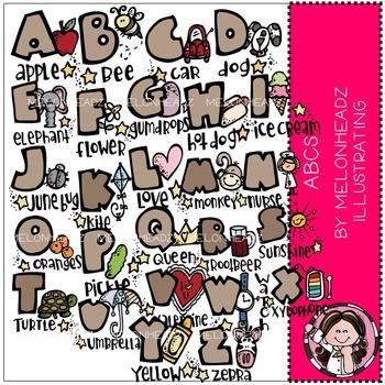 Melonheadz: ABCs clip art - COMBO PACK