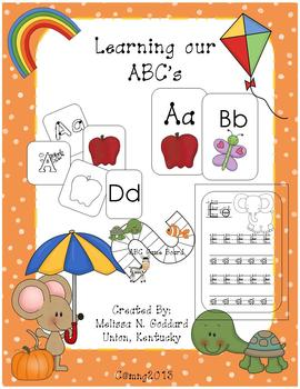 Alphabet games, matching, flash cards, and more!!!!