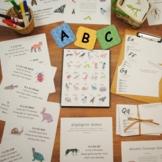 ABCs in Nature Unit Pack: nature-themed preschool alphabet