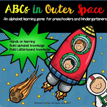 ABC's in Outer Space: An Alphabet Recognition and Letter Sounds Game