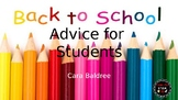 ABC's of Advice for Junior High Students (End of Year & Back to School)