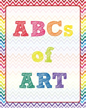 ABCs of Art Chevron