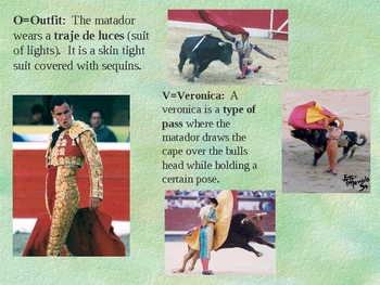 ABC's of Bullfighting