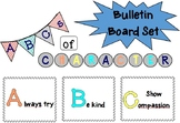 ABCs of Character Bulletin Board Set