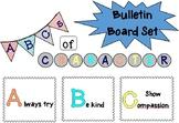 ABCs of Character Bulletin Board Set