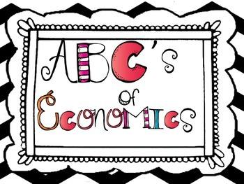 ABC's of Economics~ Vocabulary Builder