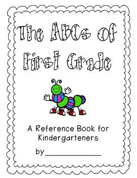 ABCs of First Grade Book