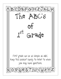 ABC's of First Grade for Parents PDF2