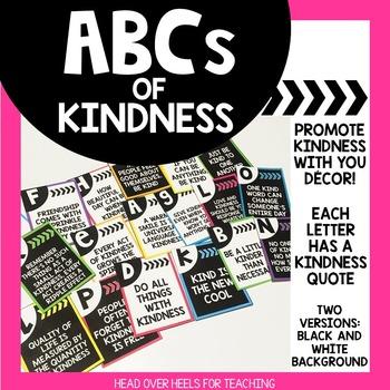 ABCs of Kindness {Kindness Alphabet}