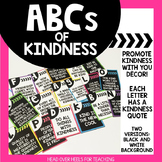 ABCs of Kindness {Kindness Alphabet}