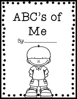 ABC's of Me: All About Me Alphabet Book