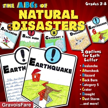 ABCs of Natural Disasters: Mini-Research Reports and Bulletin Board