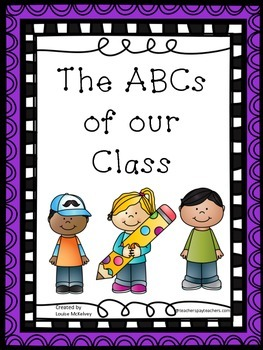 ABCs of Our Class Collective Writing Prompt and Alphabet W