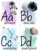 ABCs of Outer Space- Alphabet Posters