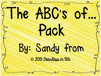 ABC's of... Pack