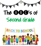 ABC's of Second Grade [EDITABLE]