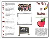 ABCs of Teaching Resource Guide - EDITABLE FREEBIE