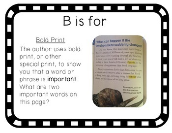 Text Features ABCs: An Introduction to Nonfiction and Informational Text