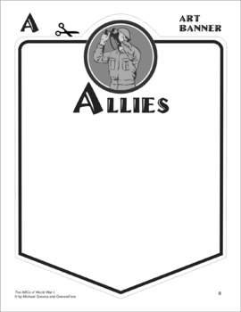 ABCs of WORLD WAR 1 Activity: Mini-Research Reports and Bulletin Board Project