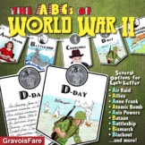 ABCs of WORLD WAR 2 Activity: Mini-Research Reports and Bulletin Board Project