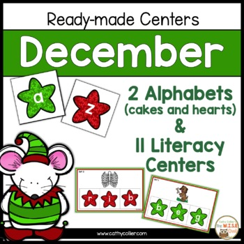ABCs of the Holidays:  11 Ready-made Reading Centers