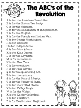 ABCs of the Revolution