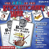 ABCs of the Revolutionary War Activity: Mini-Research Reports and Bulletin Board