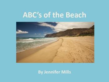 Beach alphabet book