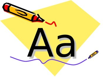 ABC's powerpoint capital & lowercase